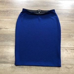 BUNDLE SALE 3/$25 Royal Blue Pencil Skirt